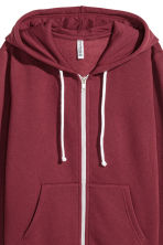 Hooded jacket - Burgundy - Ladies | H&M 3