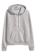 Hooded jacket - Grey - Ladies | H&M CN 2