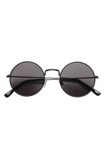 Round sunglasses - Black - Ladies | H&M CN 2