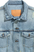 Denim jacket - Light denim blue - Men | H&M CN 4