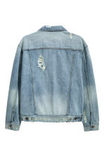 Denim jacket - Light denim blue - Men | H&M CN 3