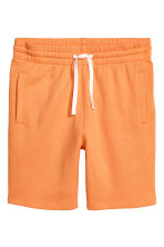 Sweatshirt shorts - Orange - Men | H&M 2
