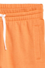 Sweatshirt shorts - Orange - Men | H&M 3