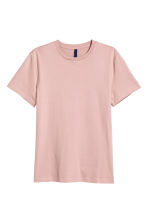 Round-necked T-shirt - Light pink - Men | H&M 2