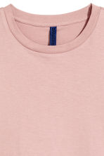 Round-necked T-shirt - Light pink - Men | H&M 3