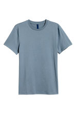 Round-necked T-shirt - Pigeon blue - Men | H&M CA 2