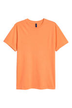 Round-necked T-shirt - Orange - Men | H&M 2