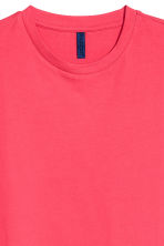 Round-necked T-shirt - Coral pink - Men | H&M CA 3