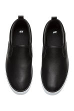 Slip-on trainers - Black - Men | H&M 2
