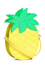 Pineapple-shaped shoulder bag - Yellow/Pineapple - Kids | H&M 2