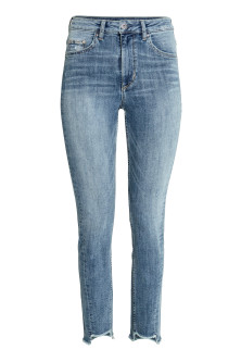Slim High Twisted Jeans