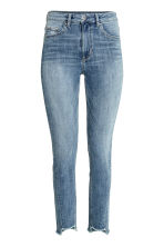 Slim High Twisted Jeans - 牛仔蓝 - 女士 | H&M CN 2