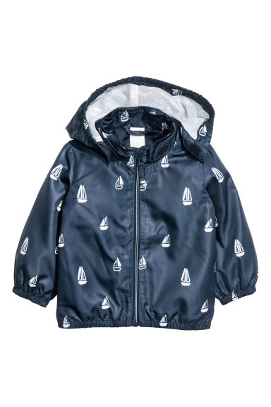 Outdoor jacket - Dark blue/Boat - Kids | H&M 1