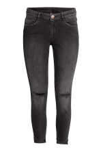 Super Skinny Ankle Jeans - Donkergrijs washed out - DAMES | H&M BE 3