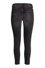 Super Skinny Ankle Jeans - Donkergrijs washed out - DAMES | H&M BE 4