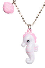 Necklace with pendants - White/Seahorse - Kids | H&M 2