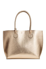 Shopper with a clutch bag - Gold - Ladies | H&M CN 2