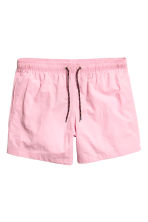 Short swim shorts - Light pink - Men | H&M CN 2