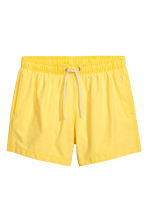 Short swim shorts - Yellow - Men | H&M CN 2