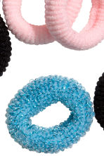 12-pack hair elastics - Blue - Kids | H&M CN 2