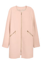 Short coat - Powder pink - Ladies | H&M GB 2