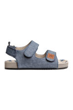 Sandals - Blue/Chambray - Kids | H&M 1