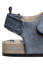Sandals - Blue/Chambray - Kids | H&M 4