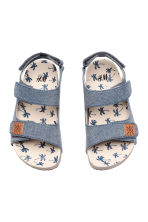 Sandals - Blue/Chambray - Kids | H&M 2