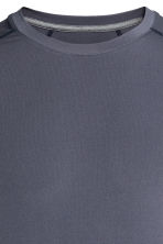 Sports top - Dark grey-blue - Men | H&M CN 3