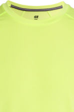 Sports top - Neon yellow - Men | H&M 3