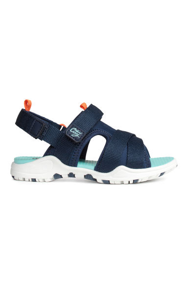 Scuba sandals - Dark blue -  | H&M 1