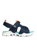 Scuba sandals - Dark blue - Kids | H&M CN 1