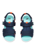 Scuba sandals - Dark blue - Kids | H&M CN 2