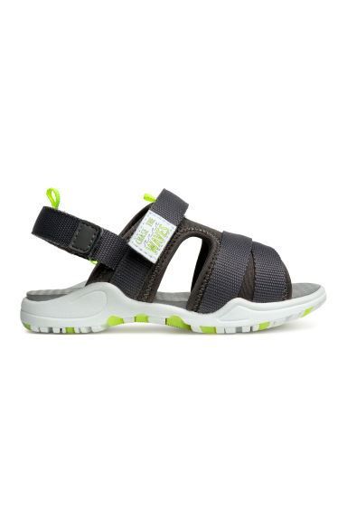Scuba sandals - Dark grey -  | H&M