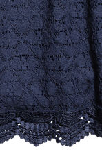 Lace dress - Dark blue -  | H&M CN 2