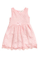 Lace dress - Light pink - Kids | H&M 1