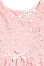Lace dress - Light pink - Kids | H&M 2