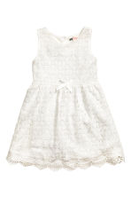 Lace dress - White - Kids | H&M 2