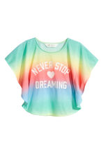 Printed top - Multicoloured - Kids | H&M 2