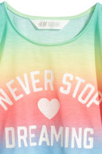 Printed top - Multicoloured - Kids | H&M CN 3