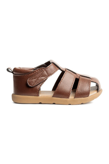 Sandals - Dark brown - Kids | H&M CN 1