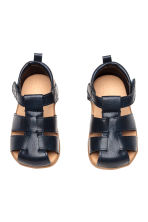 Sandals - Dark blue -  | H&M 2