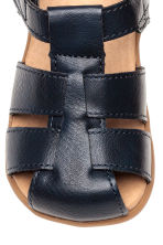 Sandals - Dark blue -  | H&M 3