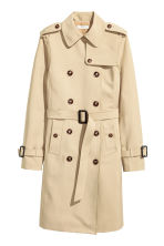 Trench - Beige chiaro - DONNA | H&M IT 2