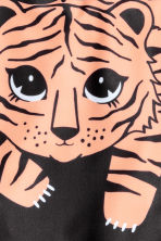 Costume intero con stampa - Nero/tigre -  | H&M IT 2