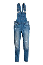Generous fit Dungarees - Denim blue - Kids | H&M CN 1