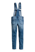 Generous fit Dungarees - Denim blue - Kids | H&M 2