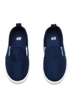 Slip-on trainers - Dark blue - Kids | H&M 2