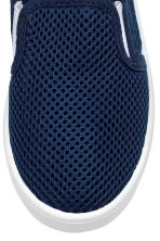 Slip-on trainers - Dark blue - Kids | H&M 4