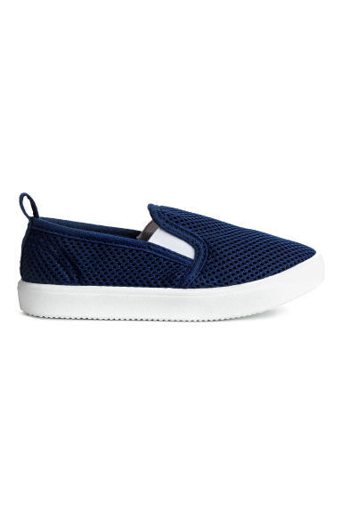 Slip-on trainers - Dark blue - Kids | H&M 1